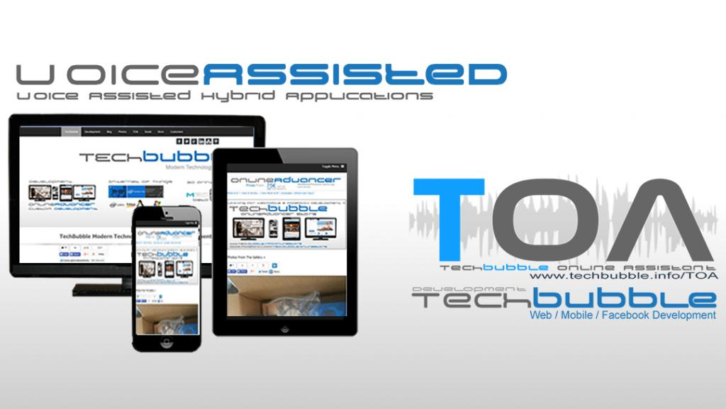 VoiceAssisted Hybrid Apps, Websites That Speak!!