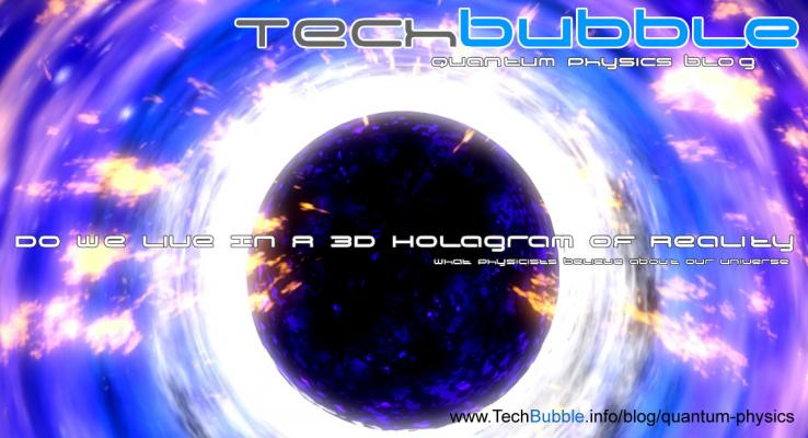 Is the world that we live in a hologram? Do we live in the matrix? Science seems to think so!