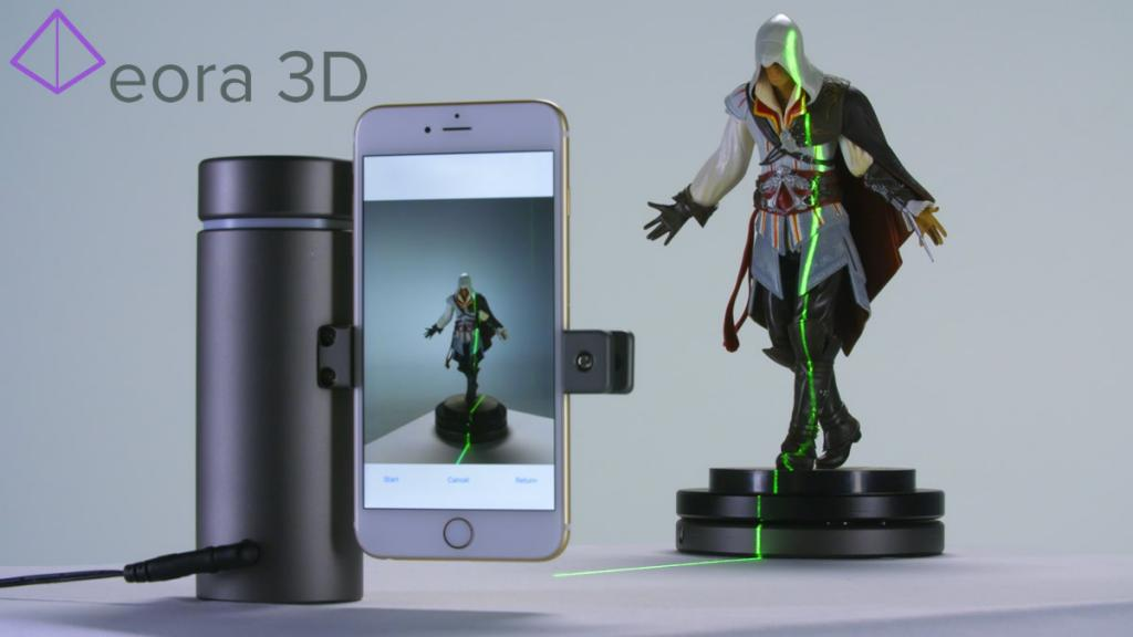 NEW TECH: Kickstarter project turns your smartphone into high precision 3D scanner 200% funded in 3 days!