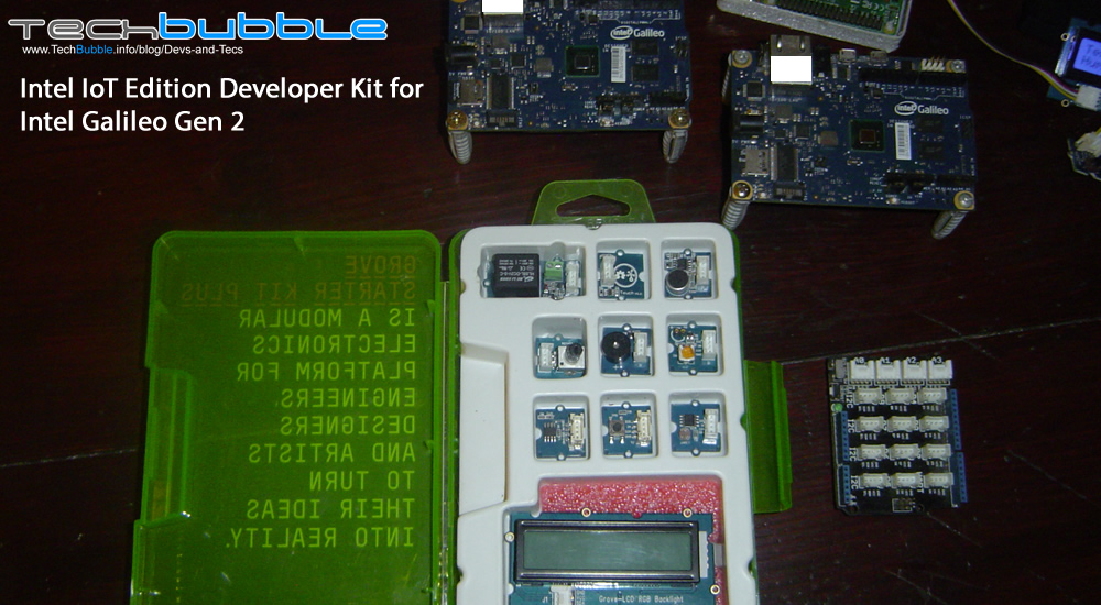 Intel IoT Edition Developer Kit for the Intel Galileo Gen 2