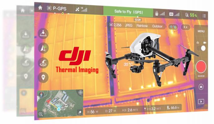 DJI releases thermal imaging camera.