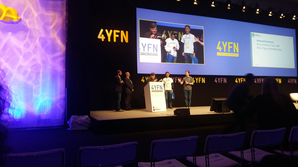 Look back at the IBM/4YFN Global Mobile Innovators Tournament Finals at 4YFN/Mobile World Congress
