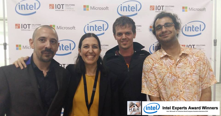Project H.E.R. wins Intel Expert Award for building a Deep Learning Neural Network on an Intel Joule at IOTSWC Hackathon