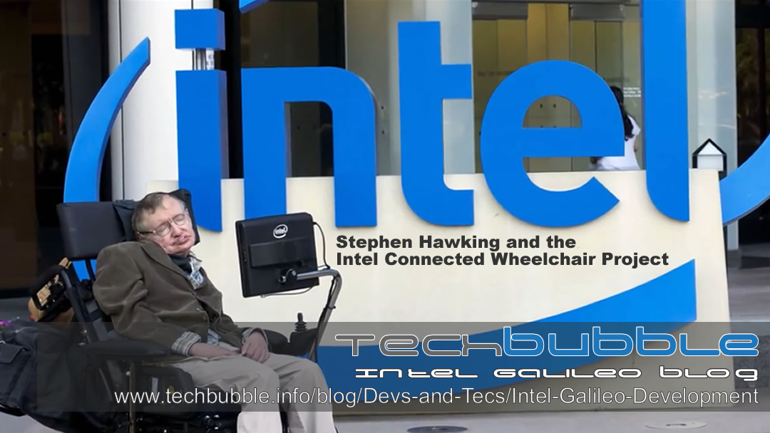 Stephen Hawking and the Intel Connected Wheelchair