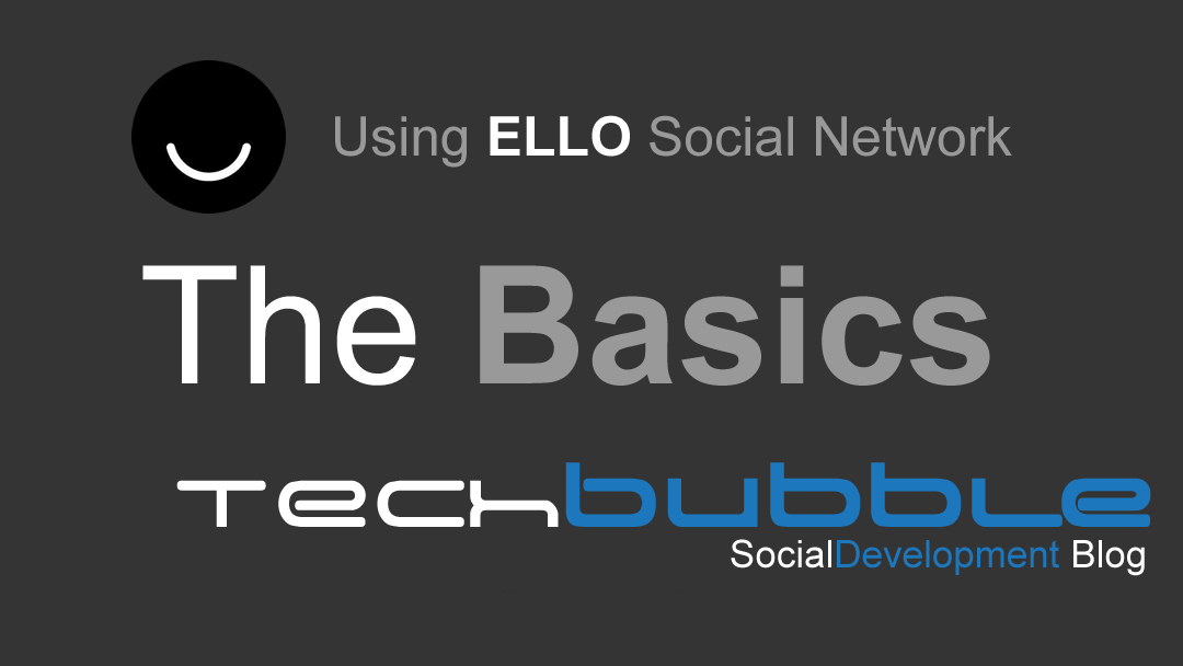 Using Ello Social Network, The Basics
